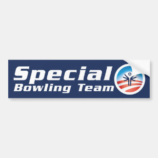 Special O Bowling Team Bumper Sticker