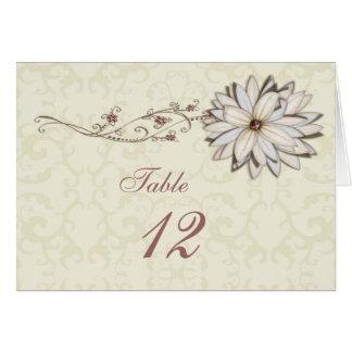 Special Occasion Elegant Floral Design Greeting Card