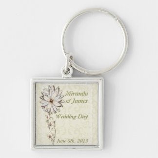 Special Occasion Save the Date Design Key Ring