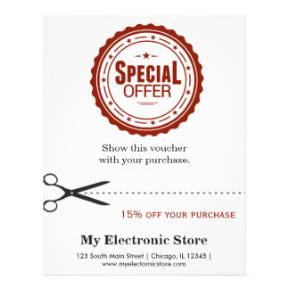 Special Offer 21.5 Cm X 28 Cm Flyer