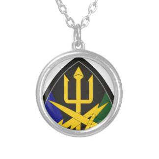 Special Operations Command Joint Forces Round Pendant Necklace