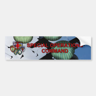 special operations command veterans Bumper Sticker