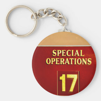 special operations firetruck 17 sign keychains