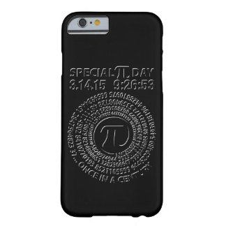 Special Pi Day 2015, Spiral Barely There iPhone 6 Case