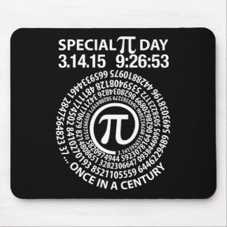 Special Pi Day 2015, Spiral Mouse Pads