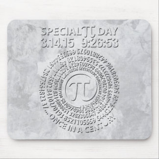 Special Pi Day 2015, Spiral Mousepads
