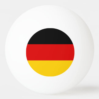 Special ping pong ball with Flag of Germany