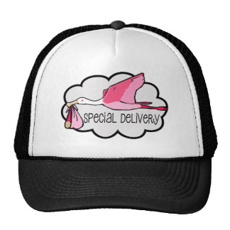 Special Pink Delivery Hat