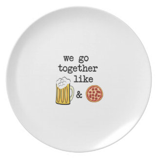 Special Pizza Dinner Plate