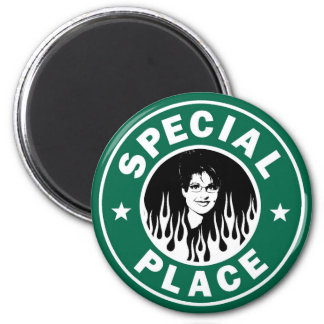 Special Place In Hell 6 Cm Round Magnet