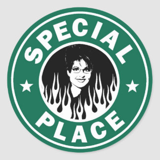 Special Place In Hell Classic Round Sticker
