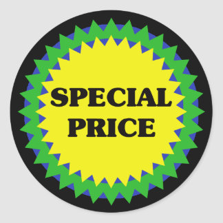 SPECIAL PRICE Retail Sale Sticker