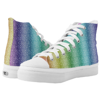 Special Rainbow  High Tops