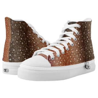 Special Rainbow High Tops Printed Shoes