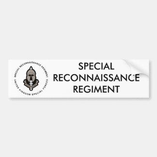Special Reconnaissance Regiment Bumper Stickers
