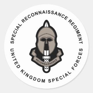 Special Reconnaissance Regiment Round Stickers