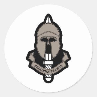 Special Reconnaissance Regiment Classic Round Sticker