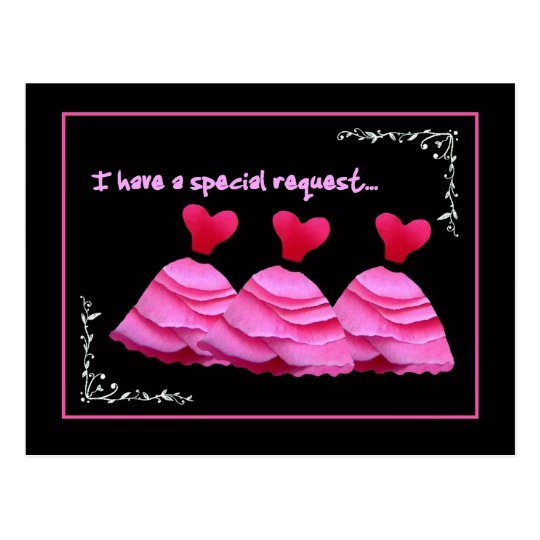 SPECIAL REQUEST - Wedding Invitation Postcard