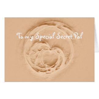 Special Secret Pal Card