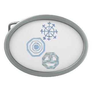 Special Snowflake Buckle Belt Buckle