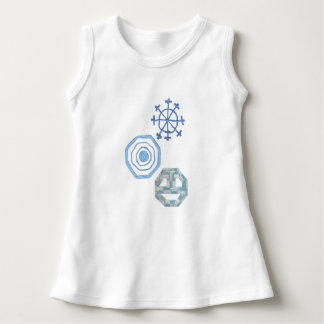 Special Snowflake No Background Baby Dress