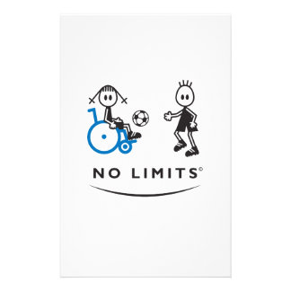 Special Soccer Girl Stationery Paper
