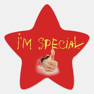 special star star sticker