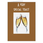 SPECIAL TOAST TO SPECIAL PERSON GREETING CARDS