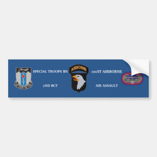 SPECIAL TROOPS BN 2ND BCT 101ST BUMPER STICKER CAR BUMPER STICKER