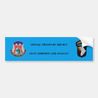 SPECIAL TROOPS BN 3RD BCT 101ST BUMPER STICKER