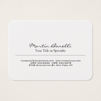Special Unique Modern Professional Business Card