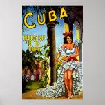 Special Vintage Cuba Travel Poster