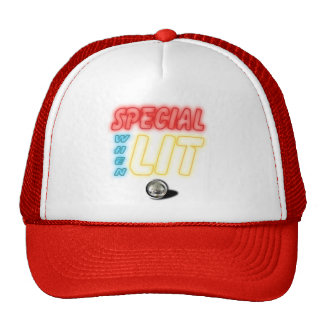Special When Lit Pinball Hat