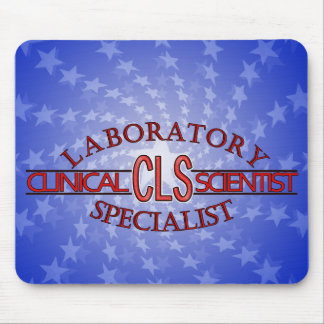 SPECIALIST CLS LOGO CLINICAL LABORATORY SCIENTIST MOUSE PAD
