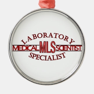 SPECIALIST LAB MLS MEDICAL LABORATORY SCIENTIST CHRISTMAS ORNAMENT