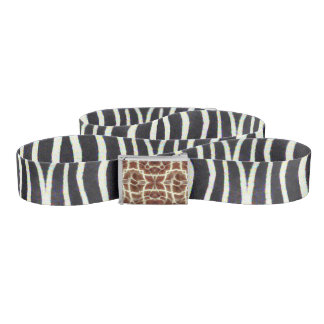 Specialty Designed Custom Belt (Modern Animal)