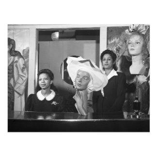 Specialty Hat Shop, 1940s Postcard