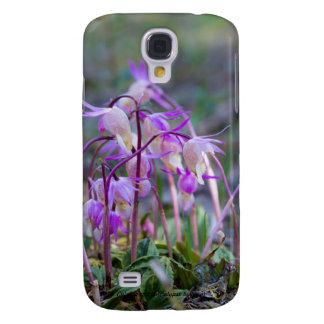 Species: Calypso orchid Galaxy S4 Case