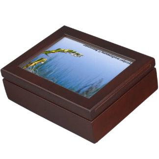 Species: Leatherleaf Keepsake Box