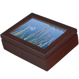 Species: Shore sedge Keepsake Box
