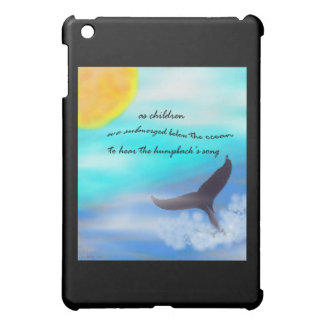 Speck®Humpback Whale Haiku Art Fitted™Hard Shell i Cover For The iPad Mini
