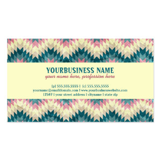 Speckled Chevron Pack Of Standard Business Cards
