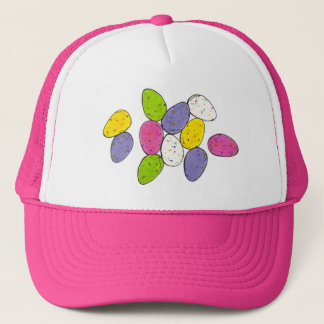 Speckled Chocolate Easter Candy Egg Eggs Hat