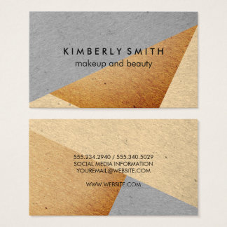 Speckled Color Blocks Business Card