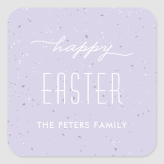 Speckled Egg Easter Sticker - Lavender