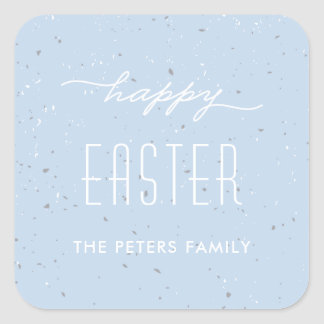 Speckled Egg Easter Sticker - Sky