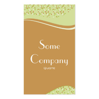 Speckled Elegance (Celery) Double-Sided Standard Business Cards (Pack Of 100)
