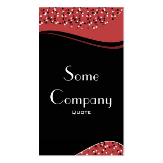 Speckled Elegance (Cherries) Business Card