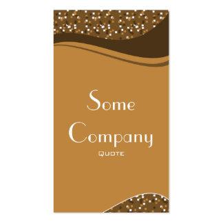 Speckled Elegance (Chocolate Cake) Pack Of Standard Business Cards