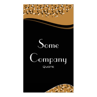 Speckled Elegance (Chocolate) Pack Of Standard Business Cards